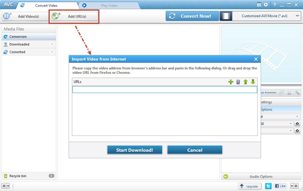 Conversor de vdeo gratuito any video converter gratuito mp4 flv transfercia gratuita online de vdeo ccuart Choice Image