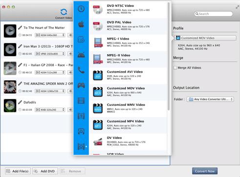 conversor de video para dvd mac