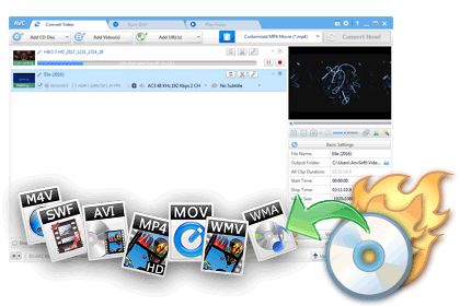 Any Video Converter Freeware for Windows: Convert any video