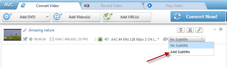 How to add srt file to video clips using any video converter or any select art subtitle ccuart Choice Image