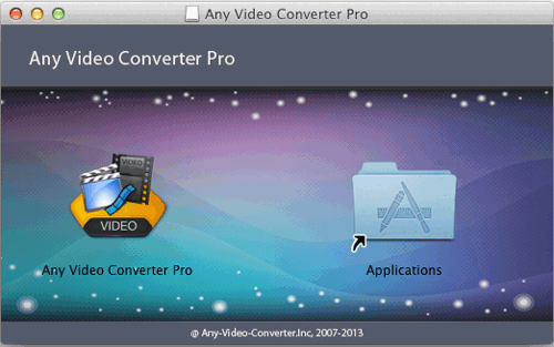 Install Any Video Converter Pro