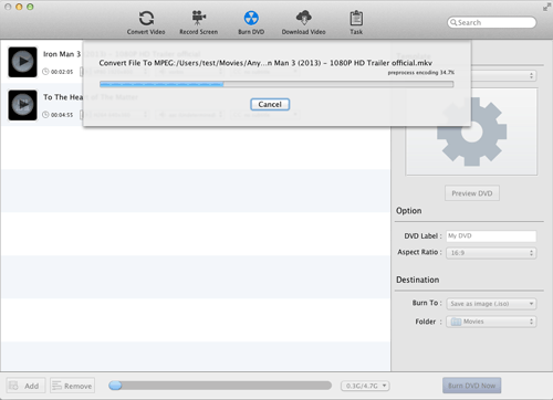 iTunes to DVD - How to Burn iTunes M4V movie to DVD on Mac | NoteBurner