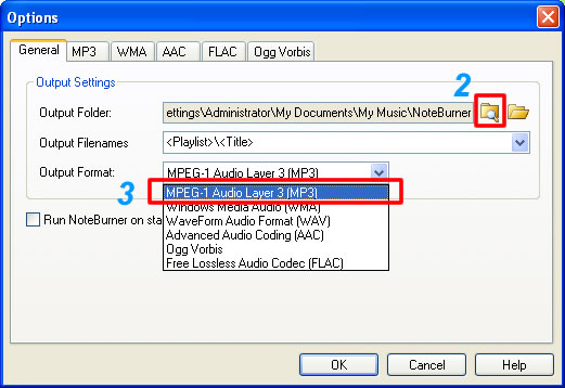 convert m4p to mp3, wma, flac, aac, ogg formats