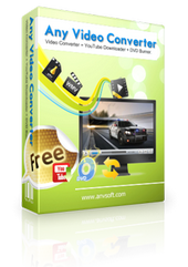 Any Video Converter Free box