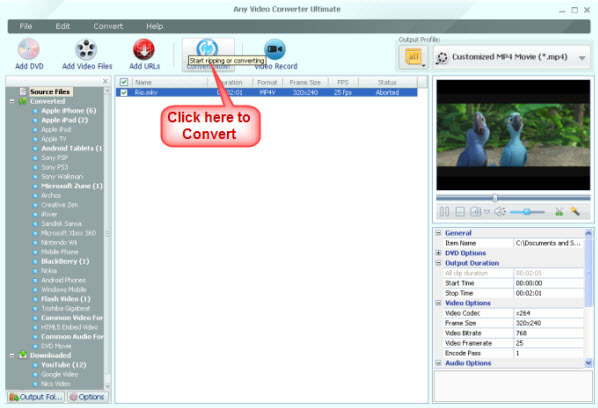 convert video for Nokia Lumia 900