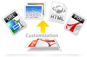 PDF converter Customization