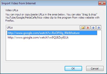 How to Burn Google Videos to DVD/Blu-ray disc with DVD Menu