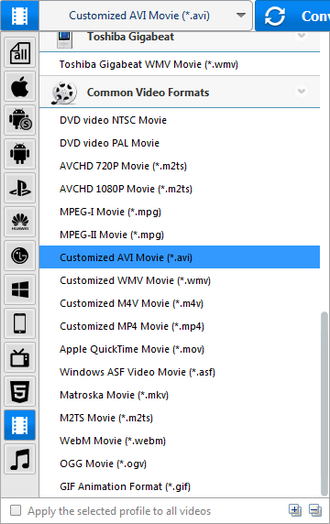 How to convert ISO to AVI by using Any Video Converter