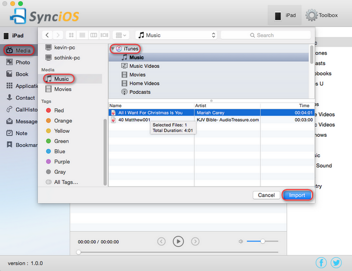 How to Use SynciOS iPhone/iPad/iPod Manager on Mac