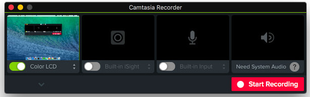 Top Three Video Recording Software for Mac to Record Screen