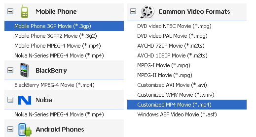 video converter for Galaxy Mega 6.3 and Galaxy Mega 5.8