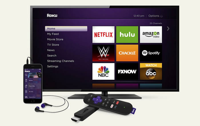 stream netflix video with roku