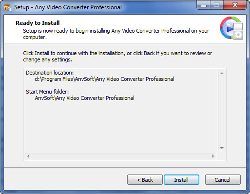 Welcome to Any Video Converter Professional
