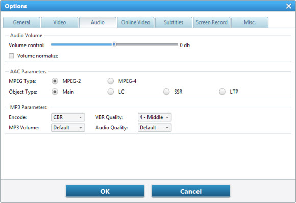 Audio Setting FAQs for Any Video Converter, Any DVD