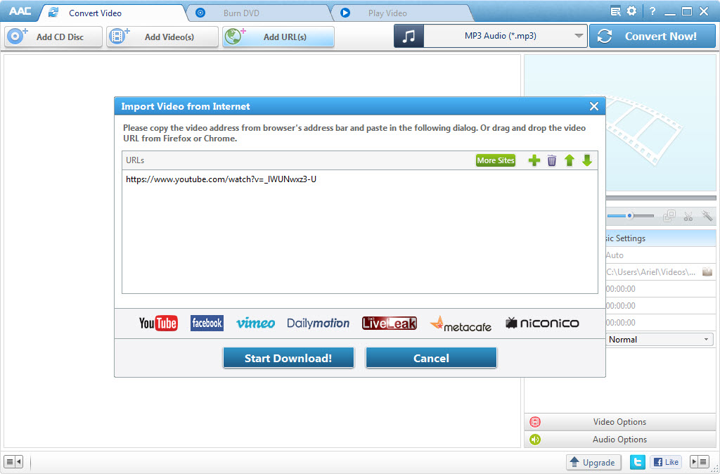 music converter free download mp4 to mp3