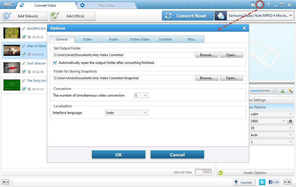 N1 Online Video Converter