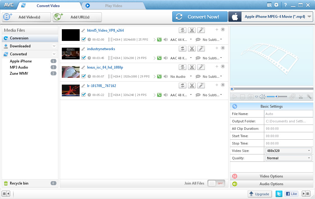 Any Video Converter Freeware 5.0.2