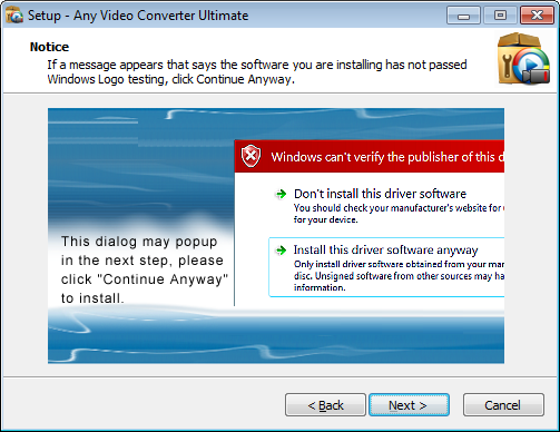 FAQs about Install and Uninstall for Any Video Converter