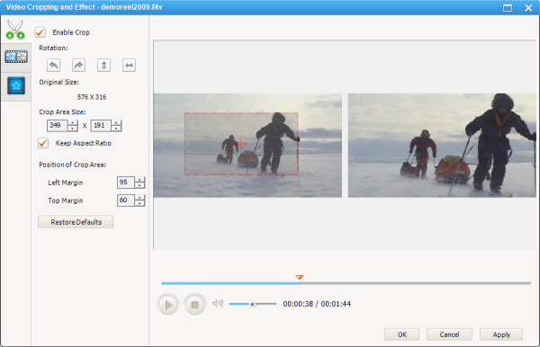 How to Crop, Trim Video, Apply Video Effect and Merge Multiple