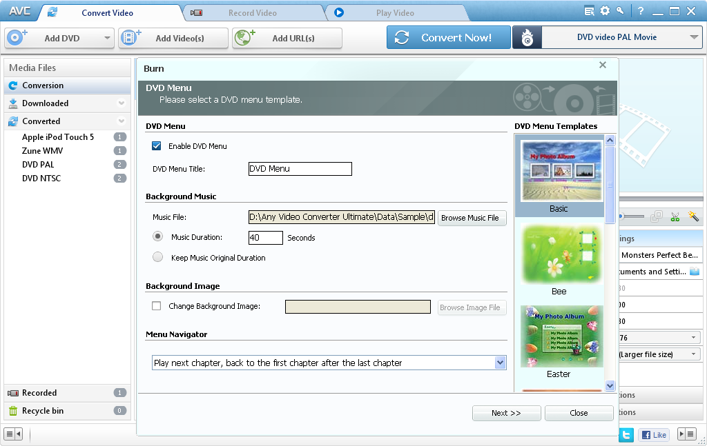 Any Video Converter Ultimate 4.6.0