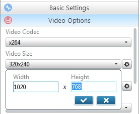 Choose Video Option