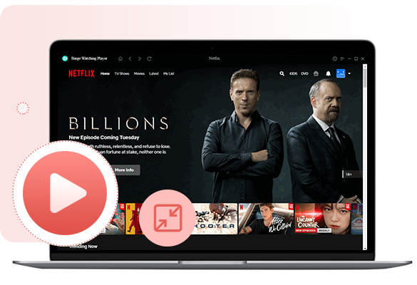 binge-watching player for netflix