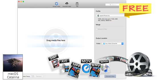 Any Video Converter Free for Mac: Convert Any Video to MP4/WMV/MP3