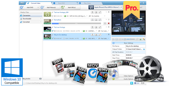 Any Video Converter Pro  – Good Multifunction Design & High