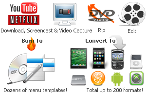 dvd converter, video converter, video record, screen capture tool, convert dvd to ipod, iphone, psp, android