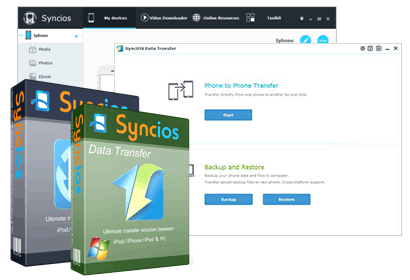 Syncios+Data Transfer bundle with special offer on sale