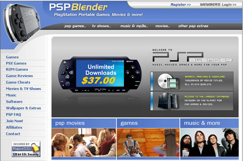 download psp games